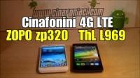 Cinafonini 4G LTE : Zopo 320 e ThL L969 il video di unboxing